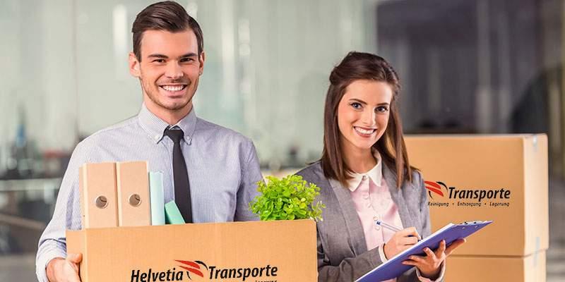 Helvetia Transporte Geschäftsumzug