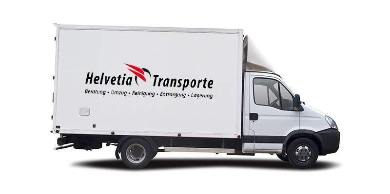 Helvetia Transport Lastwagen