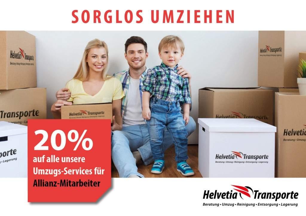 Helvetia Transport Allianz Mitarbeiter