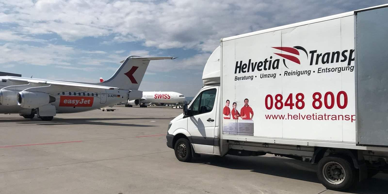HelvetiaTransporte Auslandumzug