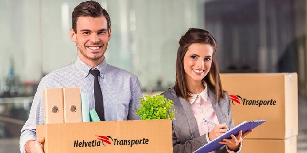 Geschäftsumzug Helvetia Transporte